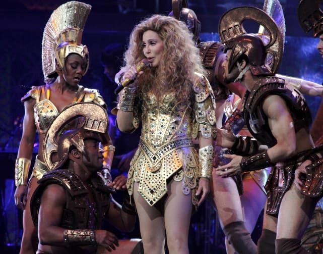 Cher as Beyonce
