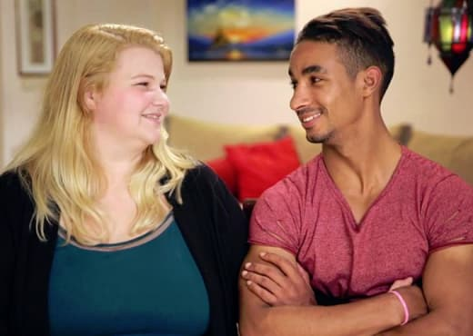 Nicole and Azan on 90 Day Fiance