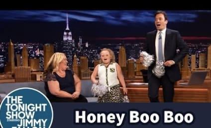 Honey Boo Boo Shows Off Cheerleading Skills on The Tonight Show