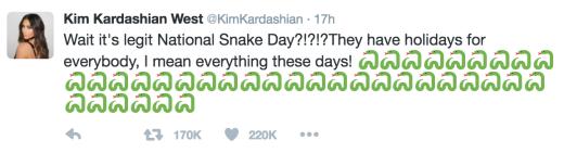 Kim Kardashian Taylor Swift Snake