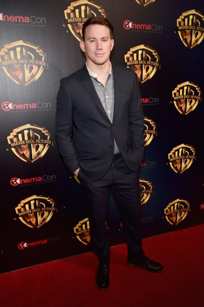 Channing Tatum Red Carpet Image