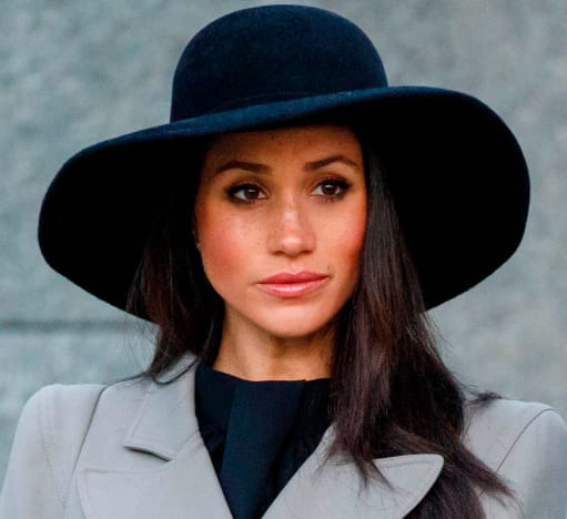 Meghan Markle with a Very Large Hat