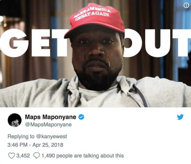 Twitter To Kanye West Amp Donald Trump Get A Room You Two