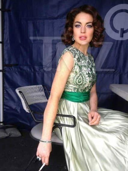 Lindsay Lohan as Elizabeth Taylor