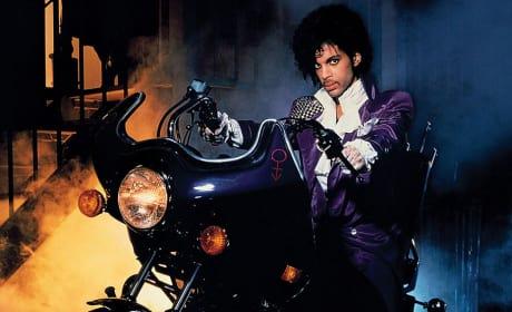 Prince in Purple Rain