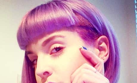 Kelly Osbourne Shaved Head Pic