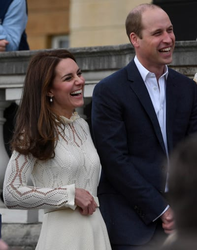 Kate and William Laugh