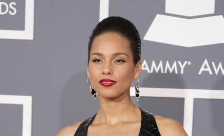 Alicia Keys at the Grammys