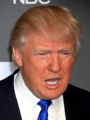 Donald Trump Angry Photo