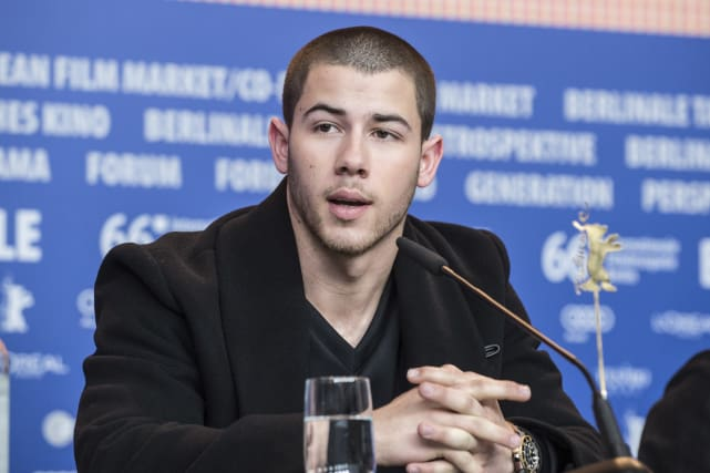 Nick Jonas: 'Goat' press conference during the 66th Berlinale International Film Festival