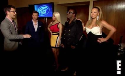 Mariah Carey in American Idol Interview: WTH?!?