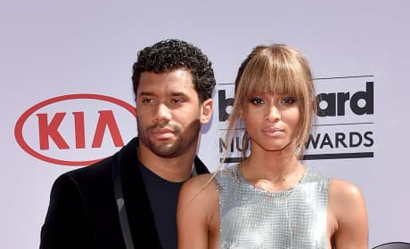 Russell Wilson and Ciara at the Billboard Music Awards