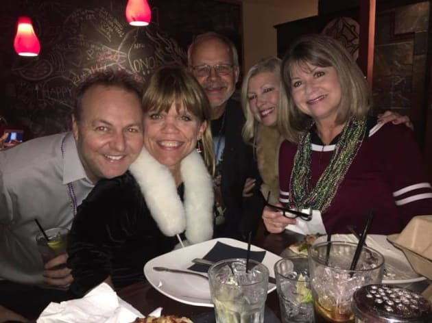 amy roloff and friends christmas 2017 the hollywood gossip