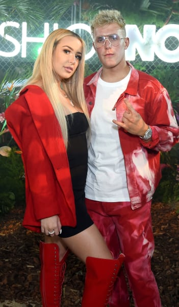 Jake Paul and Tana Mongeau