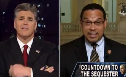 Keith Ellison to Sean Hannity: Worst. Journalist. Ever!