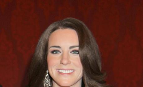 Kate Middleton Wax Figure