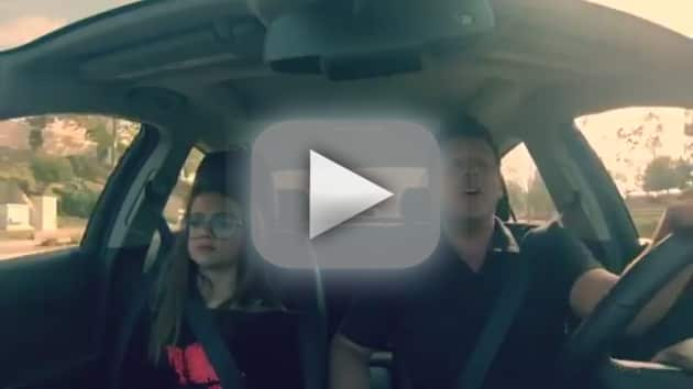 "Dad, Daughter Lip Dub ""Fancy"" by Iggy Azalea"