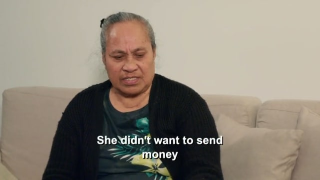 Asuelu pulaa mom she didnt want to send money