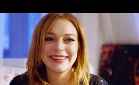 Lindsay Lohan Cries, Reflects