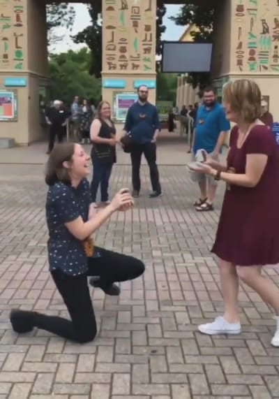 Jessa Gillaspie and Becky McCabe Proposal 05