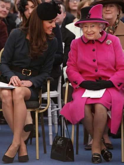 Kate Middleton, Queen Elizabeth