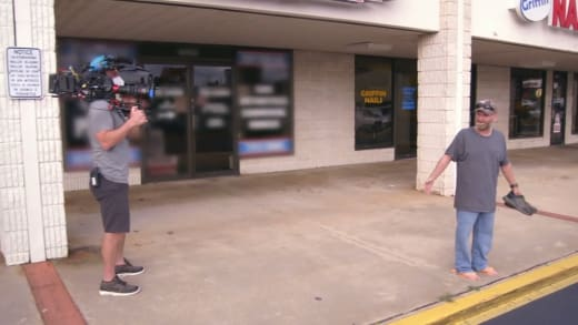 Mike Thompson Abandoned at a Strip Mall