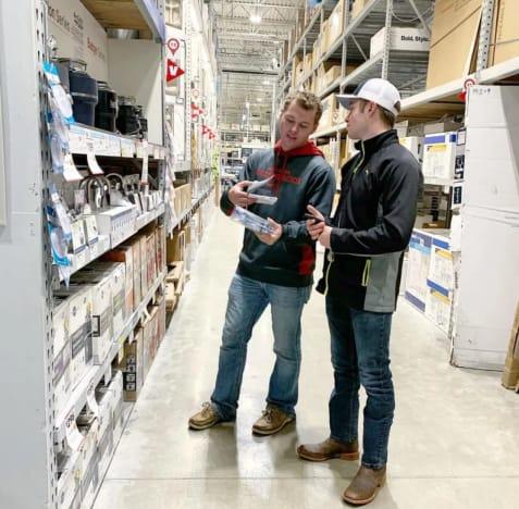 Jeremiah Duggar Buys Hardware