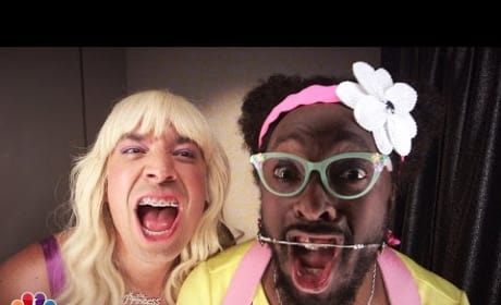 """Jimmy Fallon and will.i.am Create """"Ew!"""" Music Video"""