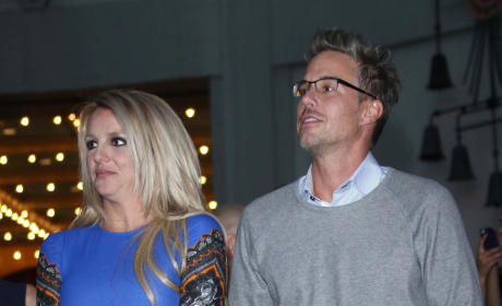 Jason Trawick With Britney Spears Photo