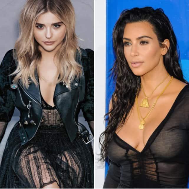 Chloe moretz and kim kardashian hate each other