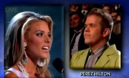 Perez Hilton Poses Gay Marriage Question to Miss California