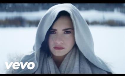 "Demi Lovato Makes Us Cry in ""Stone Cold"" Music Video"