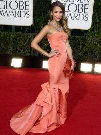 Jessica Alba at the 2013 Golden Globes