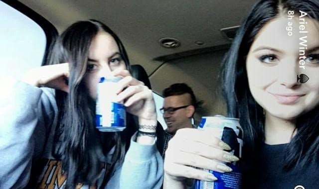 Ariel Winter: Legal Beer!