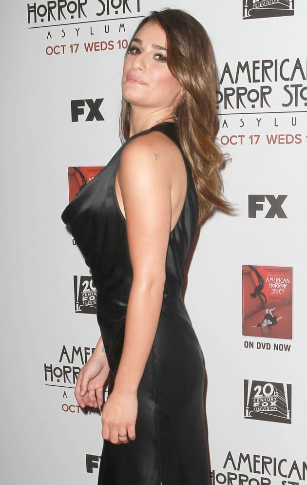 Lea Michele Baby Bump Photos Spark Pregnancy Rumor The