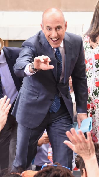 Matt Lauer at 30 Rock