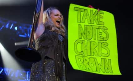 Miranda Lambert SLAMS Chris Brown in Concert