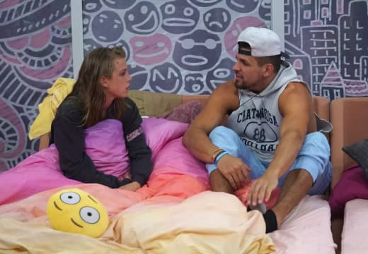 Faysal Shafaat and Haleigh Broucher on Big Brother