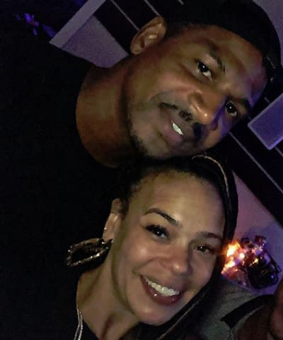 Stevie J and Faith Evans on Instagram