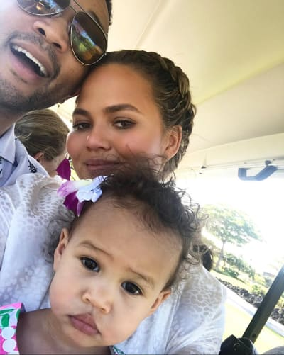5ca57b30e14c2 Chrissy Teigen  My Daughter is Such a Buzzkill! - The Hollywood Gossip