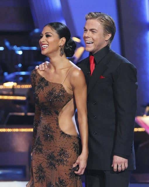 Derek Hough and Nicole Scherzinger Image