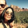 Vanessa Hudgens and Austin Butler in Sedona