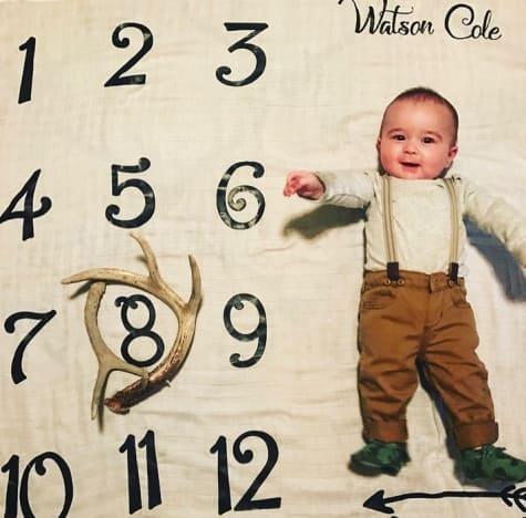 Watson Cole, 8 Months