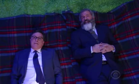 Mel Gibson Ponders Life with Stephen Colbert