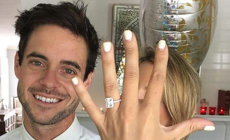 Ali Fedotowsky Engagement Ring