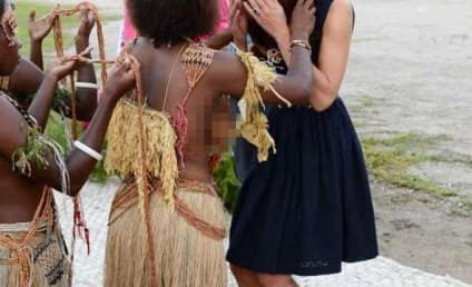 Kate Middleton Greeted By Topless Women on Solomon Islands