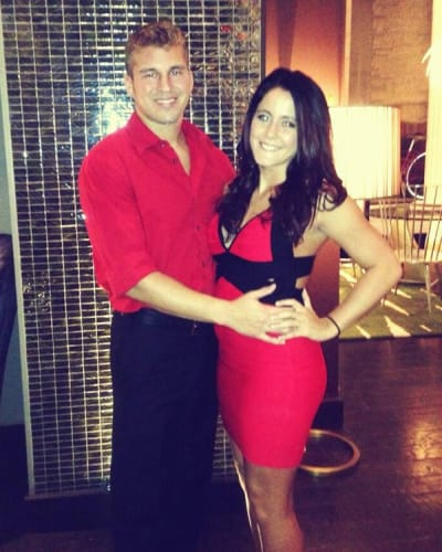 Nathan and Jenelle Evans