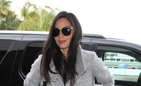 Olivia Munn Leaves LAX