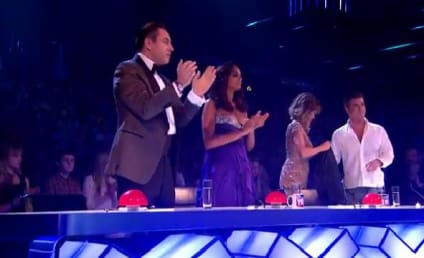 Simon Cowell: Egged on Britain's Got Talent Finale!