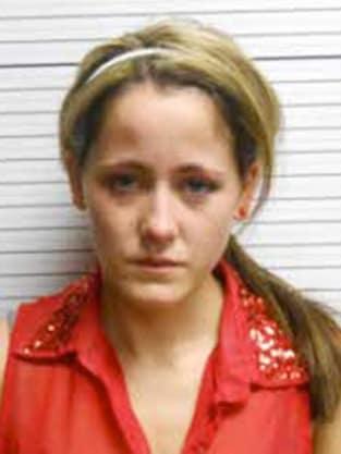 Jenelle Evans Mug Shot (April 2013)